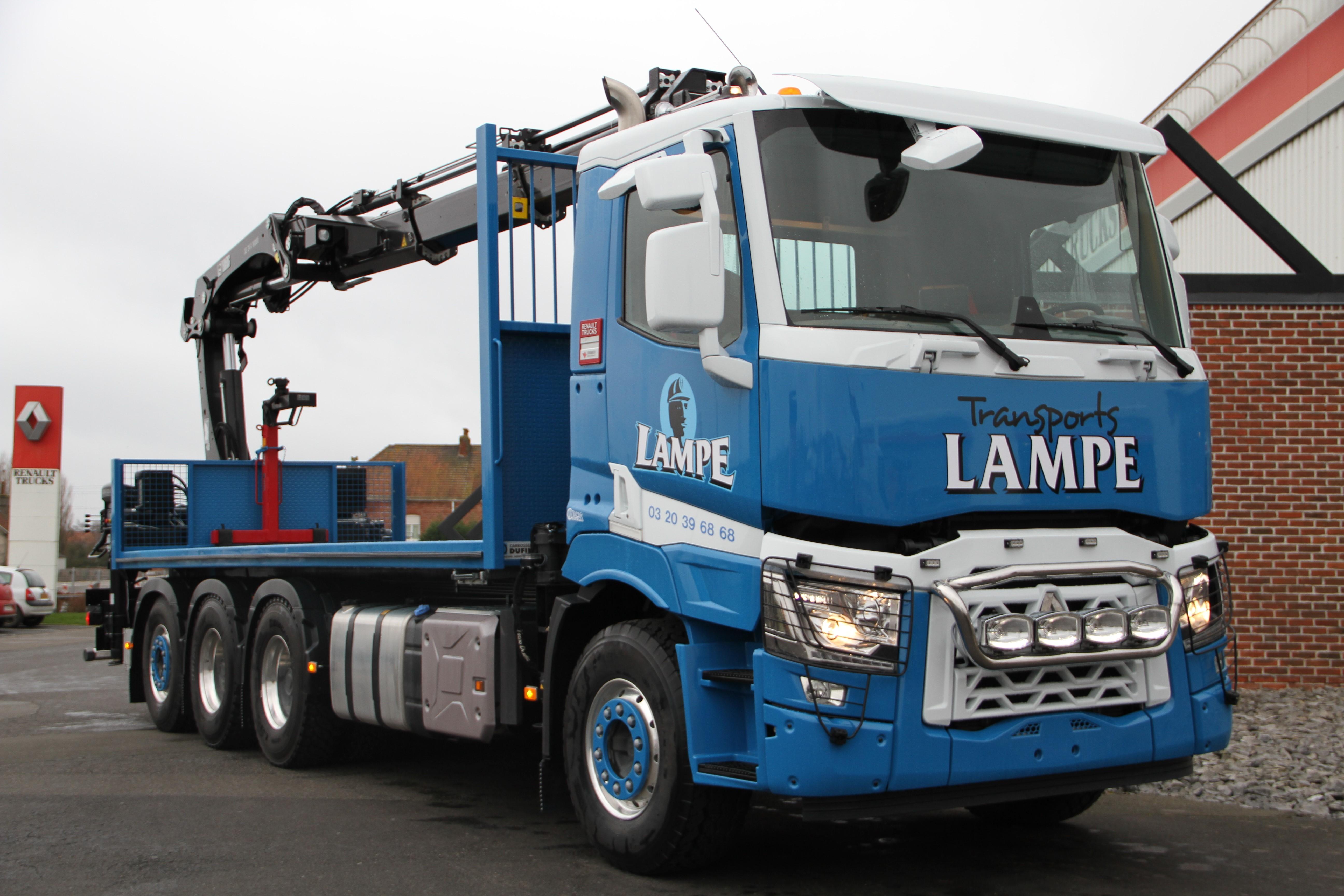 transports lampe Groupe Dubreu
